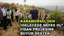 Karamürsel'den Fidan Projesine Tam Destek