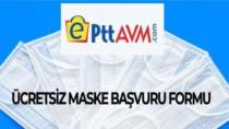 EPTT Avm Ücretsiz Maske Başvuru Formu