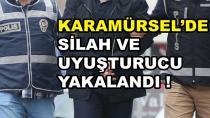 Karamürsel'de Silah ve Uyuşturucu Yakalandı