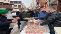 Simit Dolması Karamürsel Gazozuyla İkram Edildi